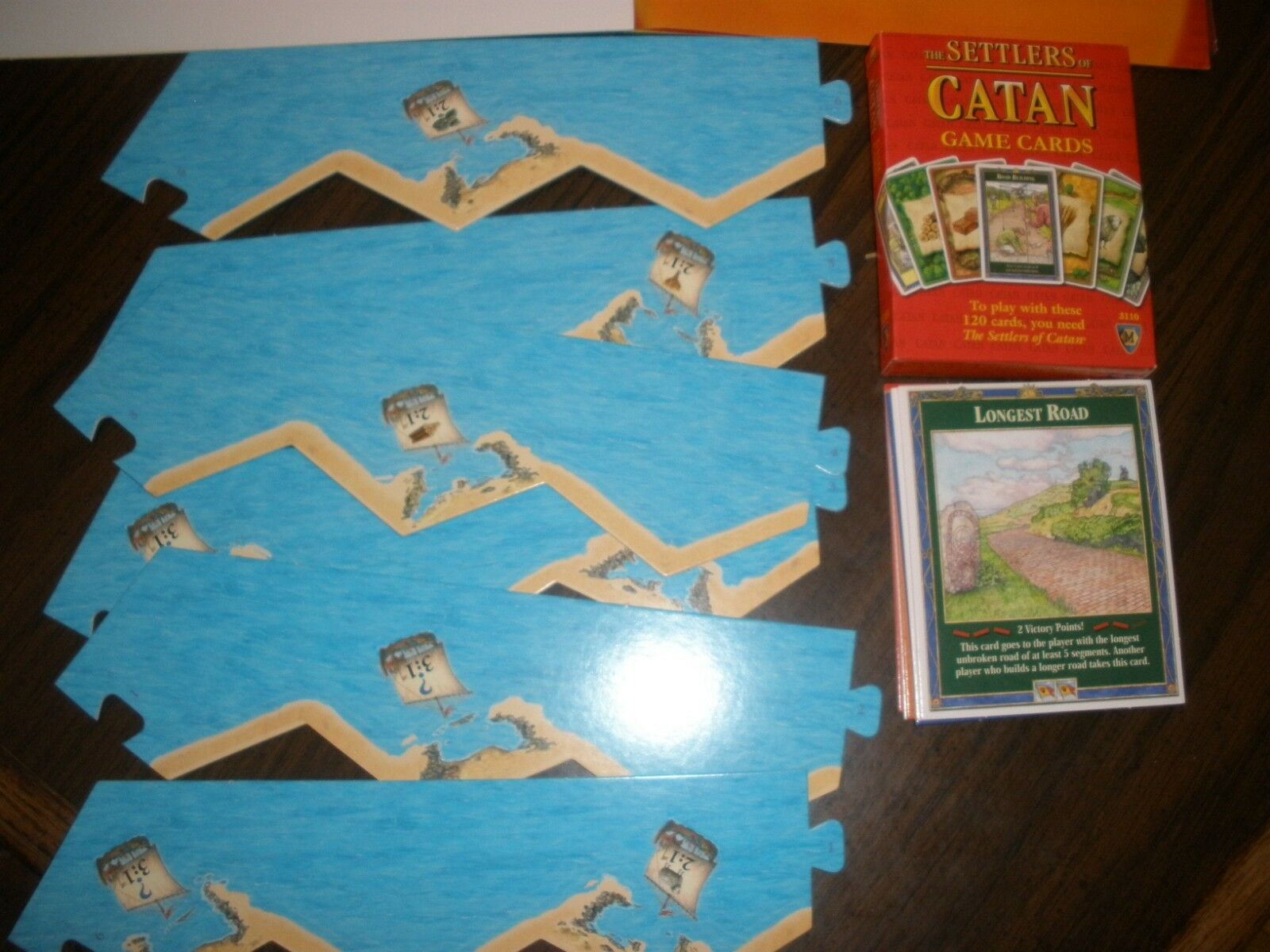 Settlers Of Catan 3061 Board Game Mayfair Games Edition Edition Edition Complete 2007 MINT ddcfcf