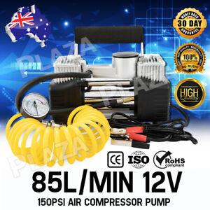85L-MIN-Car-Air-Compressor-150PSI-Tyre-Inflator-Pump-4x4-Portable-12V-AU-Stock