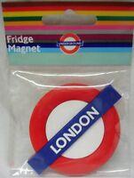 London (Underground) roundel rubber fridge magnet   (ba)