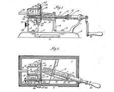 Vieja (R) sacapuntas/spitz máquina: APSCO, boston, Júpiter, bucle 1920-80