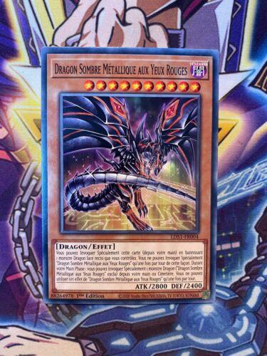 Dragon Sombre Métallique aux Yeux Rouges LDS1-FR004 1st Yu-Gi-Oh