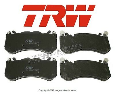 For Mercedes W204 W231 C63 AMG SL63 AMG Front Brake Pad Set TRW 0074206520