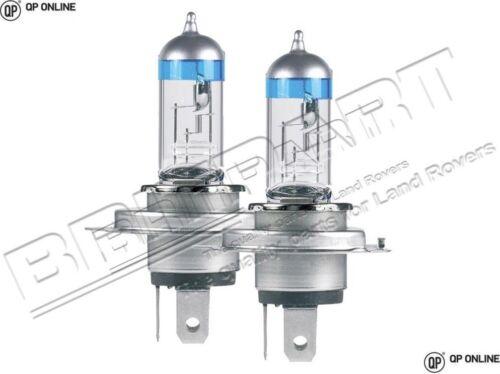 Xenon Ultima h4 Halogène H//Lamp Bulbs pair for Land Rover Vehicles da5016