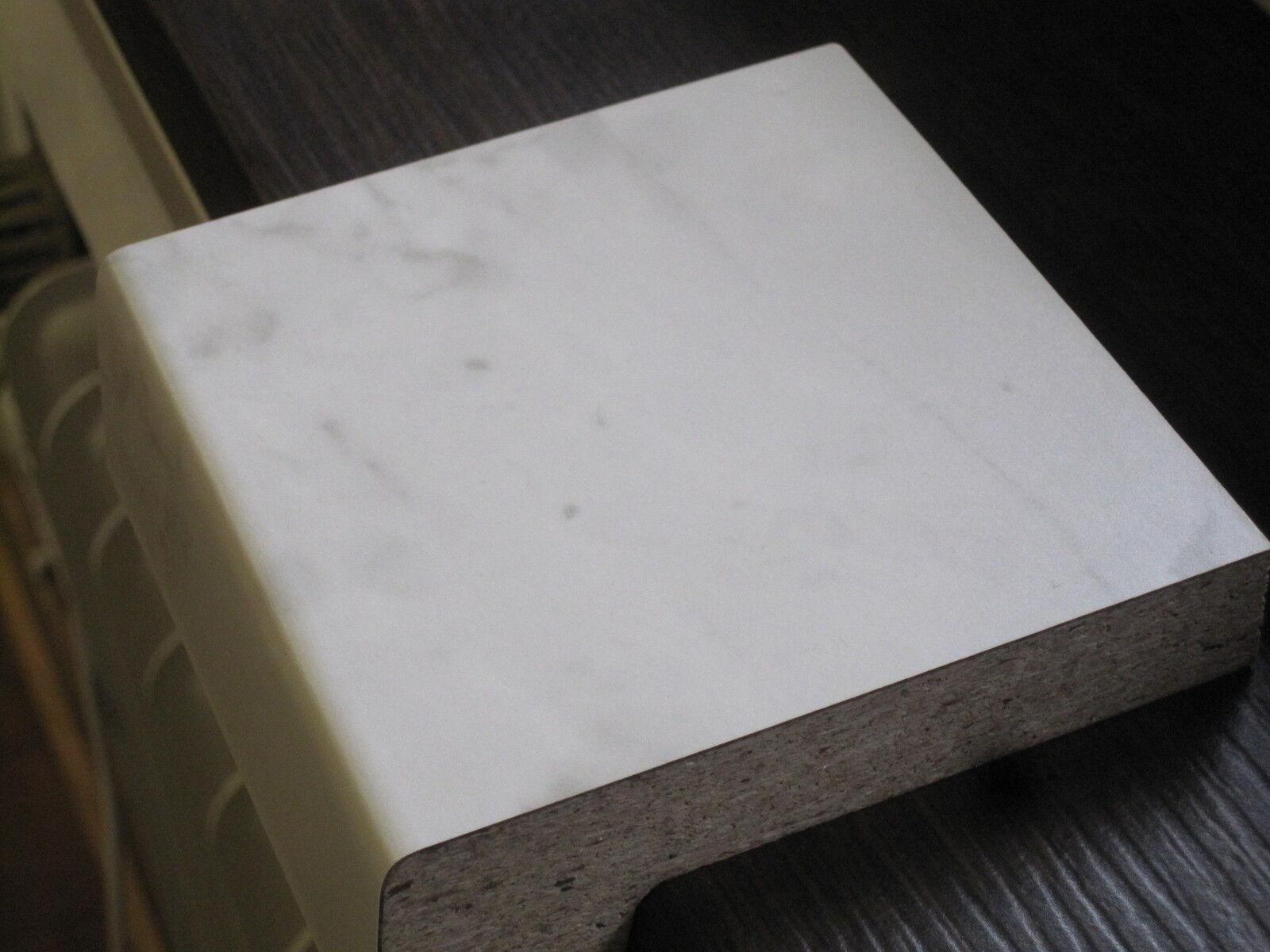 2x Werzalit Fensterbank marmor Laminat Innenfensterbank Restposten Holz 174x20cm