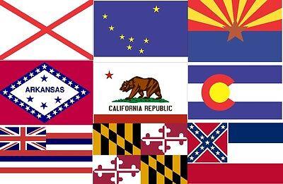 iron on T-shirt Transfer Georgia Flag A5 or A4