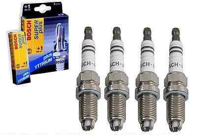 Audi BMW VW 2.0L Spark Plug Set of 4 Bosch Yttrium NEW FR7LDC 7402