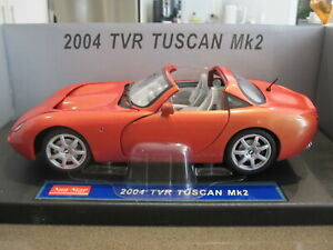 1-18-SUNSTAR-2004-TVR-TUSCAN-MK2-ORANGE-NEW