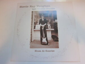 STEVIE RAY VAUGHAN In the beginning promo poster 12x12