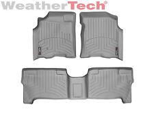 WeatherTech Floor Mats FloorLiner - Toyota Tundra Double Cab - 2004-2006 - Grey