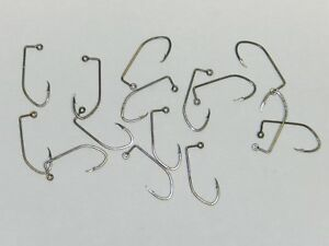 1000 EAGLE CLAW RED CHROME LIL NASTY JIG HOOK #500R DO IT Mold 1//0,2//0,3//0,4//0