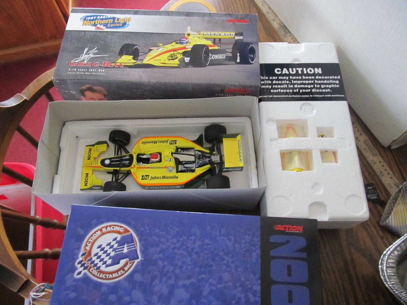 Action Racing Northern Light Greg Ray NEW IN BOX 1:18