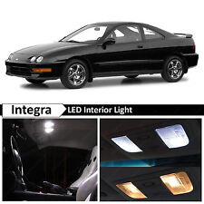 6x White Interior LED Package Kit for 1994-2001 Acura Integra + TOOL