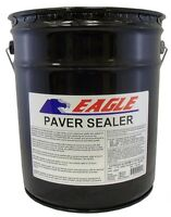 Eagle Acrylic Concrete Paver Sealer 5 Gal. Clear Wet Look Solvent Based Glossy