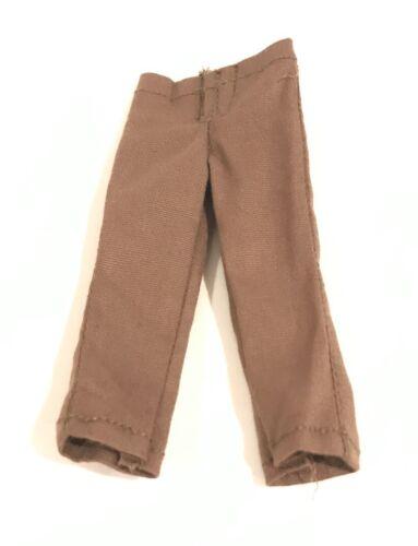 PB-KHAKI-BN No Figure 1//12 Brown Khaki pants for Mezco one:12 Marvel Legends