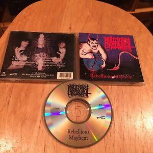 Malicious-Onslaught-Rebellious-Mayhem-CD-1st-US-press-magnus-morbid-saint-sadus