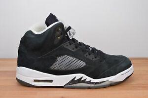 CLEAN Nike Air Jordan 5 V Oreo Black