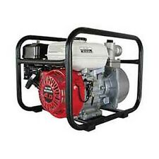 Water Pump 2 Intakeoutlet 65hp Honda Engine Gx 105 Discharge Head Feet