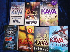 * 7 GRIPPING MAGGICE O'DELL BOOKS by ALEX KAVA * UK POST £3.25* PAPERBACKS*