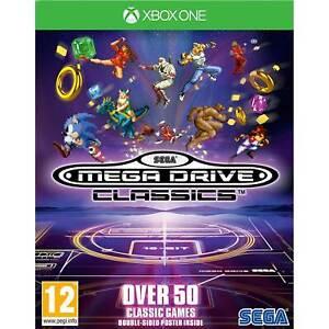 Sega Megadrive Classics XBOX ONE New and Sealed