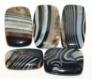 Details about  /Natural Banded Onyx Cabochons Wholesale Lot Loose Gemstone Best Price 44315