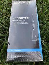 Go Smile go whiter pre-whitening gel 8 count 4 day system. Brand New Sealed.