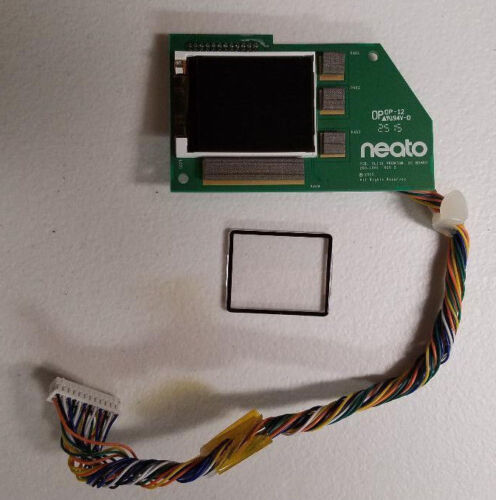 new original parts Neato BotVac Vacuum D80 D85 Series LCD display screen