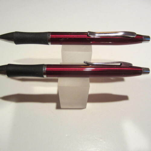 "2 TERZETTI METAL PDA ""2 in1"" STYLUS RED BALLPOINT PENIDEAL FOR FEDEXUPS"