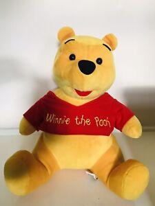 Disney Winnie The Pooh Soft Plush Kids Children's Toy Size Medium