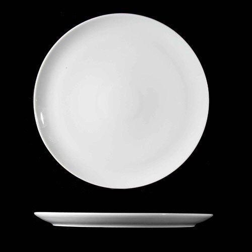 6er Set Pizzateller flach Teller 34 cm Hartporzellan I Wahl Wahl Wahl Tortenplatte Weiß | Wirtschaft  993504