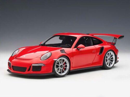 gt3 RS 2016 red 1:18 78165 Autoart Porsche 911 991