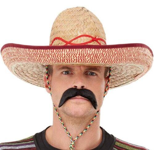 Adulto Sombrero Messicano Costume Cappello da Smiffys