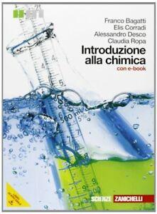 introduzione alla chimica +dvd chimica e merceologia bagatti/corradi 97888082224