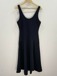 The Fifth Label Navy Midi Dress Fit & Flare Size M EUC