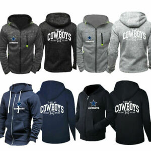 Dallas-Cowboys-Hoodie-Men-039-s-Sweater-Spring-Unisex-Football-Training-Hooded