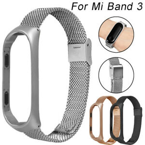 Fuer-Xiaomi-Mi-Band-3-Edelstahl-Milanese-Luxus-Ultraduenne-Armband-Strap