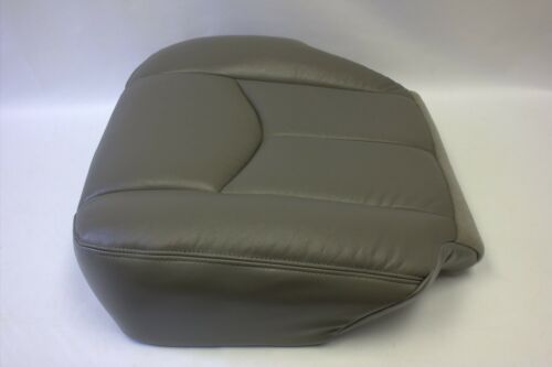 2003 2004 2005 2006 GMC Yukon Driver Bottom Vinyl Seat Cover Pewter Gray