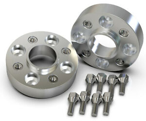 45MM-4X100-57-1MM-HUBCENTRIC-WHEEL-SPACER-KIT-UK-MADE-VW-GOLF-POLO-LUPO-CADDY
