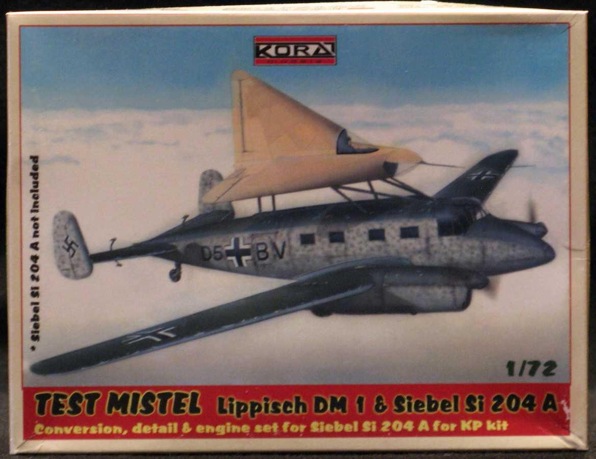 KORA Models 1 72 LIPPISCH DM-1 TEST MISTEL Conversion Kit