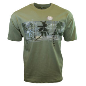 Mens-Tee-T-Shirt-M-L-XL-2XL-Surfing-Hawaiian-Relax-Sleeve-Aloha-Bahama-Beach-NEW