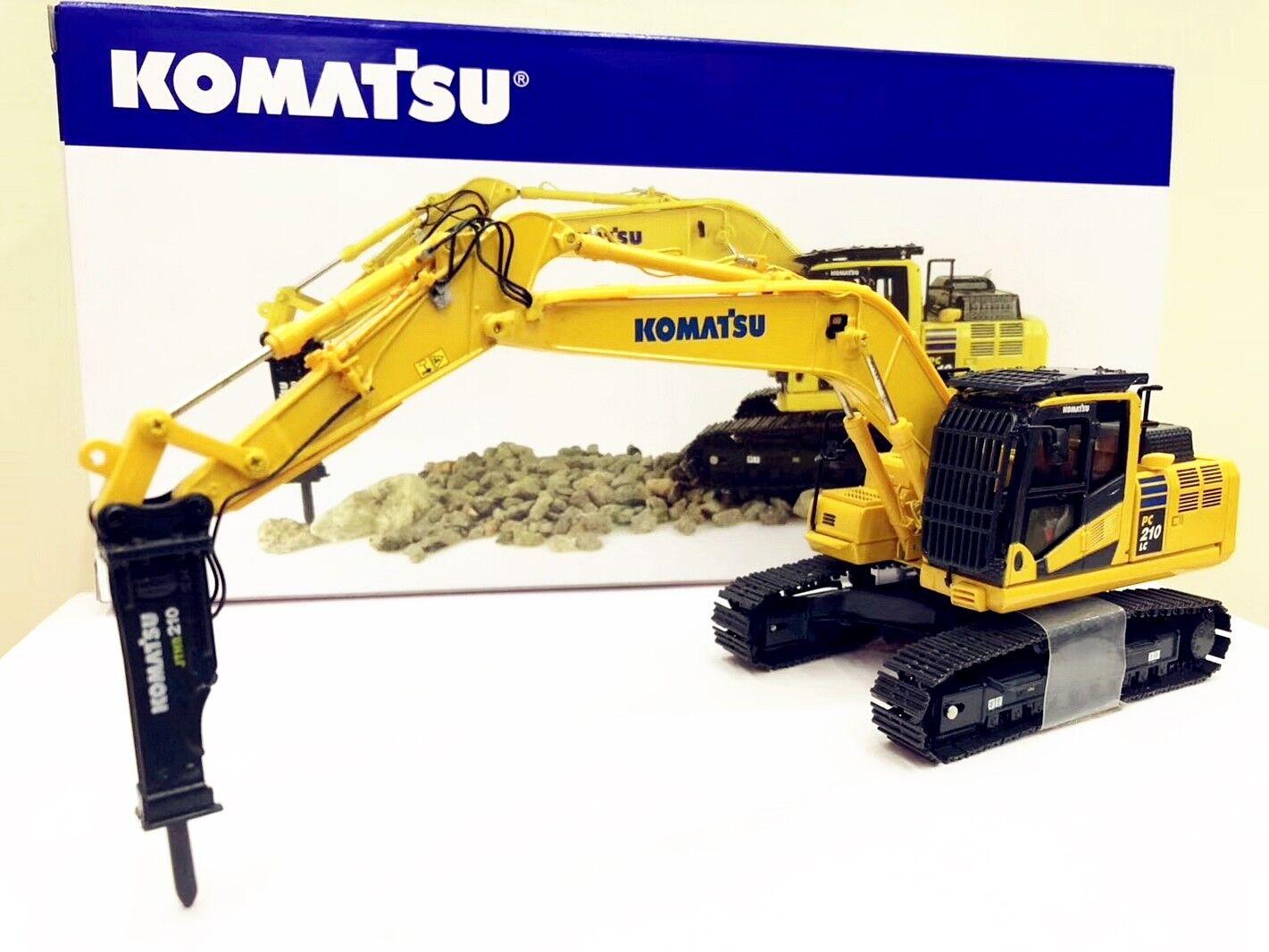 UH Universal Hobbies 1 50 KOMATSU PC210LC-11 avec marteau perforateur Pelle UH8140