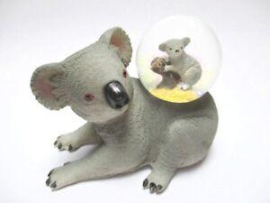 Koala-Oso-Bola-de-Nieve-Figura-de-Animal-Snowglobe-Bola-de-Brillo-Nuevo-Diseno