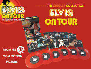 Elvis-Collectors-Boxset-Elvis-On-Tour-the-singles-collection-6-EP-1-CD-Red