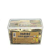 Haribo Gold Bears Mini Tubs 0.5oz Pack In A 72 Pc Jar