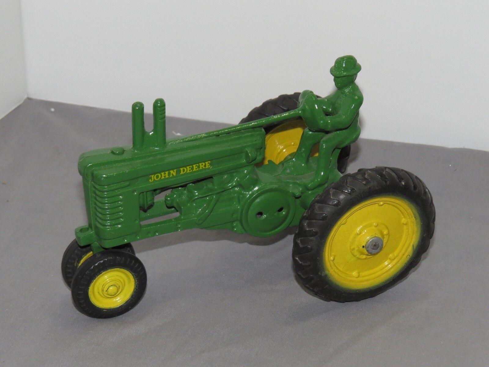 Vintage John Deere Model A Tracteur Open volant 1 16 MADE BY ERTL restauré