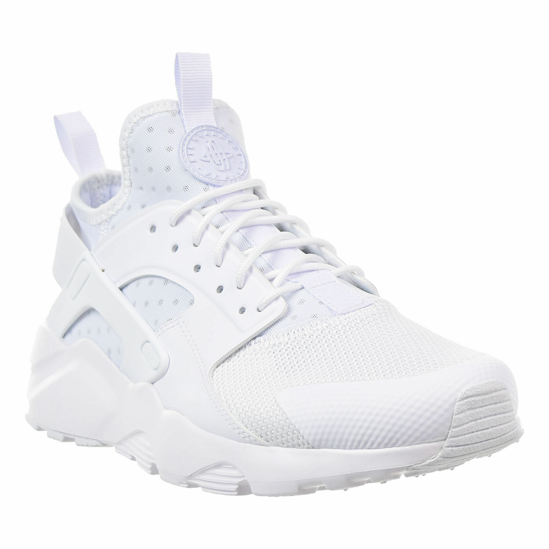 Men's Nike Air Huarache Run Ultra Running White White Sizes 8-12 NIB 819685-101