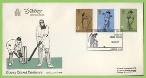 Graham-Brown-1973-juego-de-cricket-sobre-primer-dia-cubierta-Abbey-senores-tierra-London-NW6