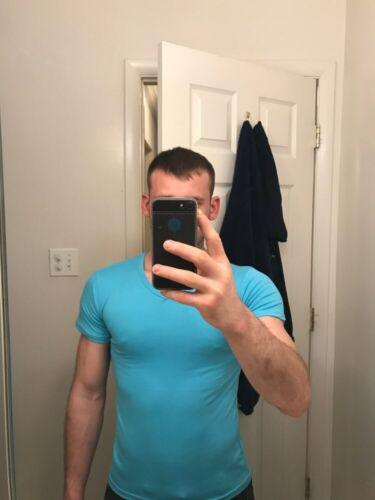 T Shirt Men Fashion 2019 MRMT Brand Clothing 10 colors V neck Men/'s Tshirts Fitn