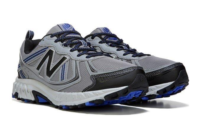 NIB New Balance MEN'S 410 V5 WIDE TRAIL RUNNING SHOES Grey bluee