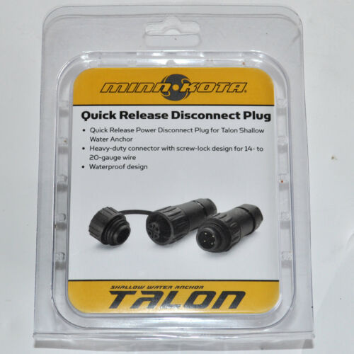 Minn Kota Quick Release Disconnect Plug 1810244
