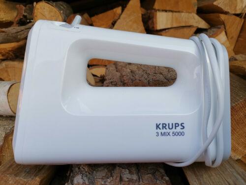 Krups 3-Mix 5000 weiss Gewehrl. Typ GN500-350 Watt